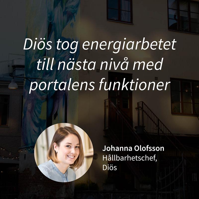 Kundcase Johanna Olofsson Diös