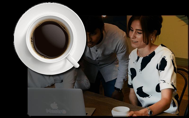 Välkommen på kaffe