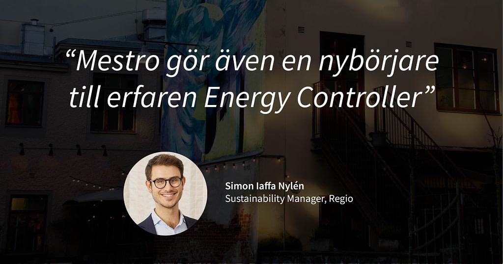 """Mestro gör även en nybörjare till erfaren energy controller"""